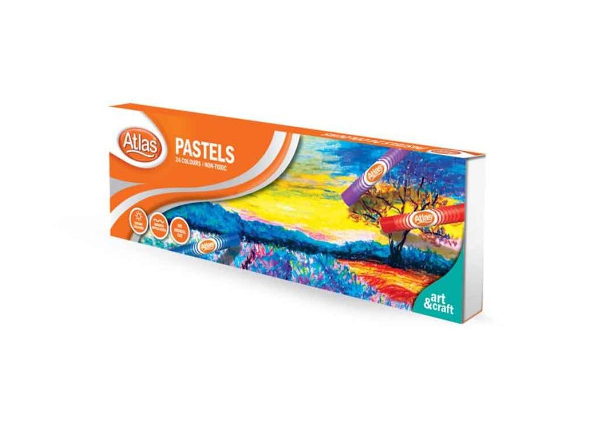 Atlas Pastel 24 Colours