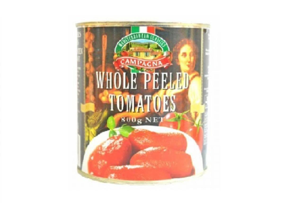 Campagna Whole Peeled Tomatose 800g