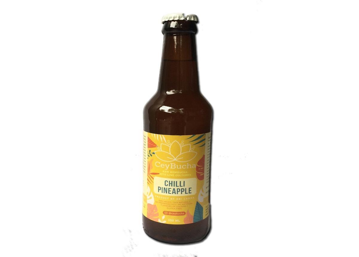 CeyBucha - Chilli Pineapple 330ml