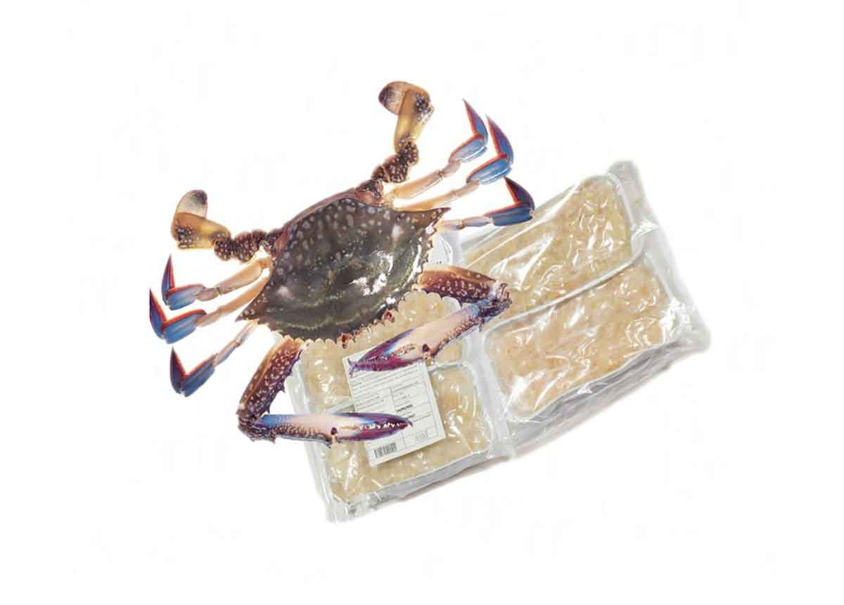 Crab Whole Cleaned 1KG