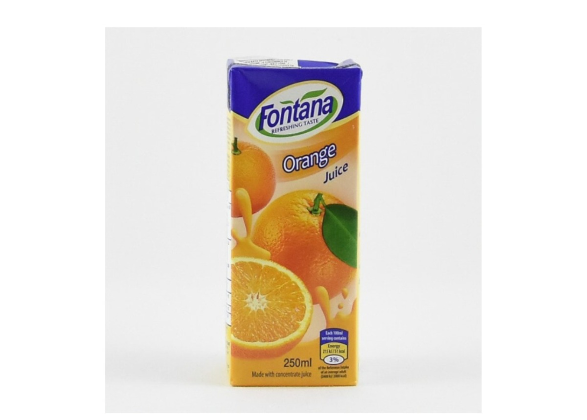 Fontana Orange juice 250ml