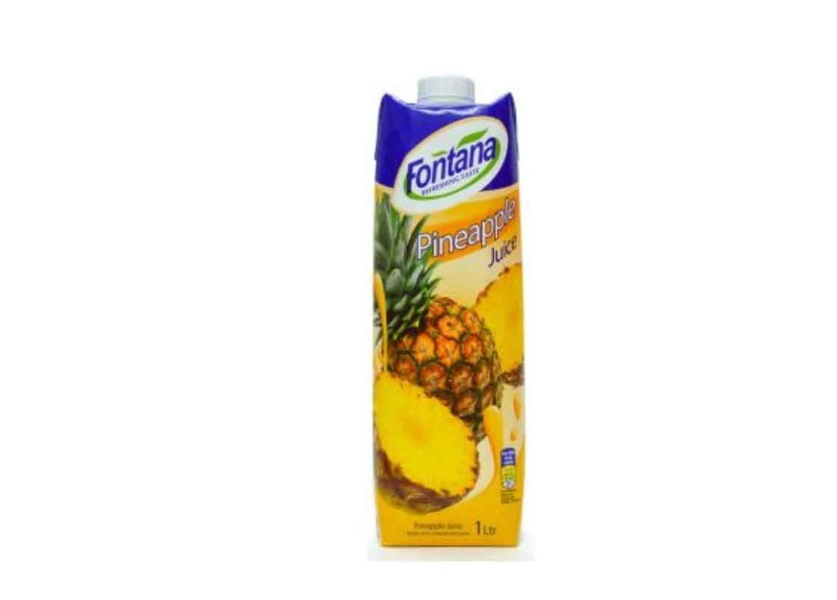 Fontana Pineapple Juice 1l