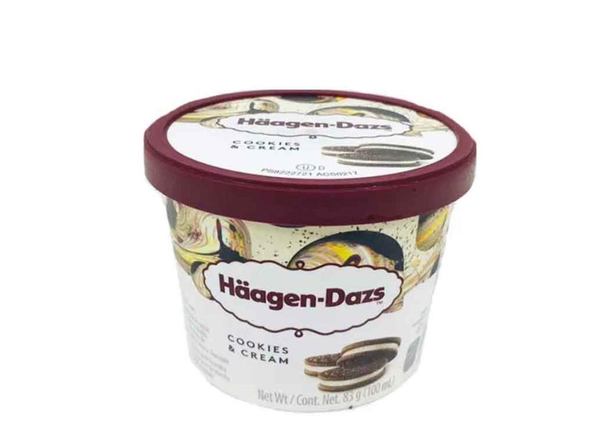 Haagen Dazs Cookies & Cream 100ml