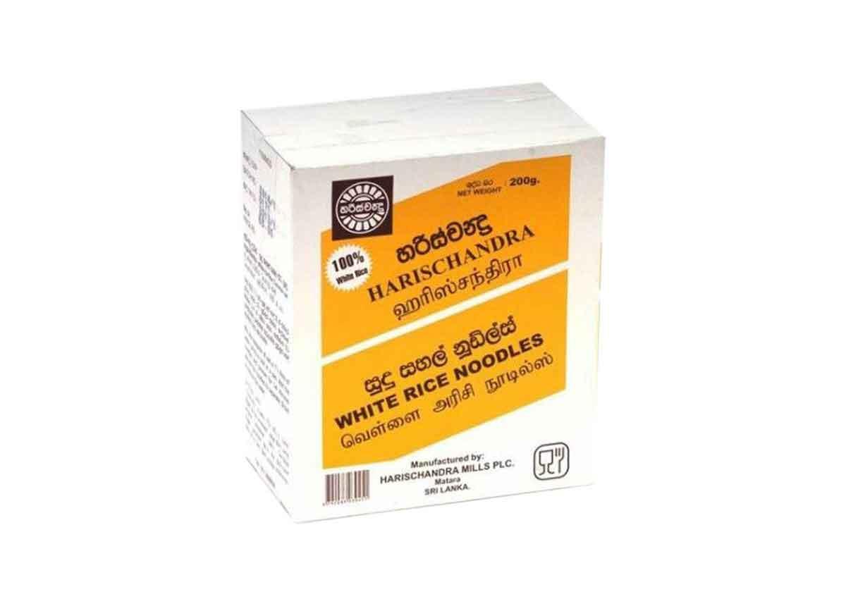 Harischandra White Rice Noodles 200g