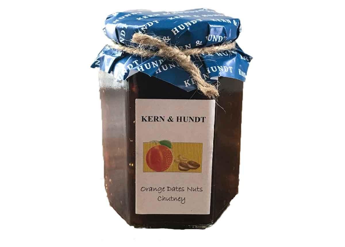 Kern & Hundt Orange Dates Nuts Chutney 350g