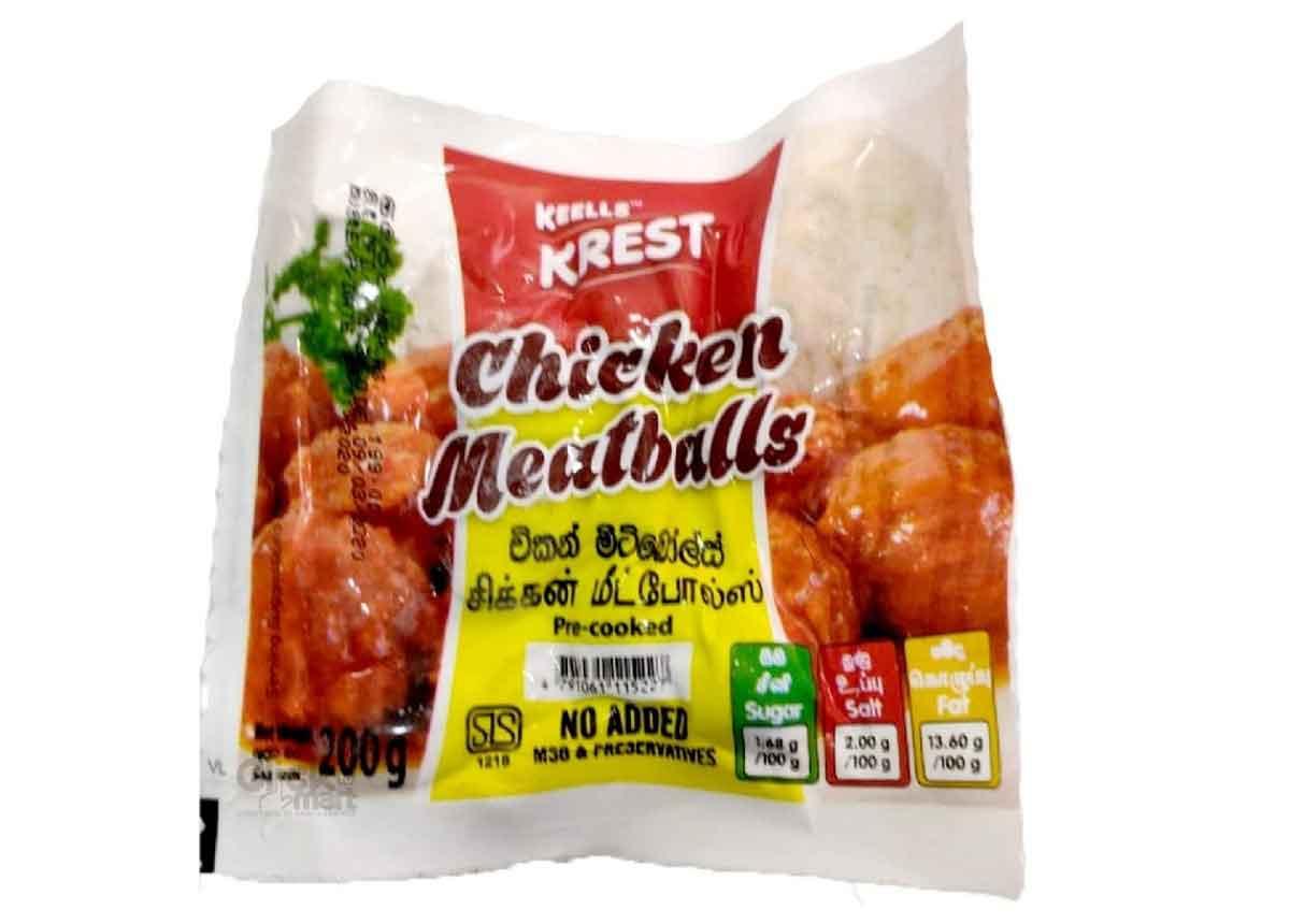 Krest Chicken Meatballs 200g