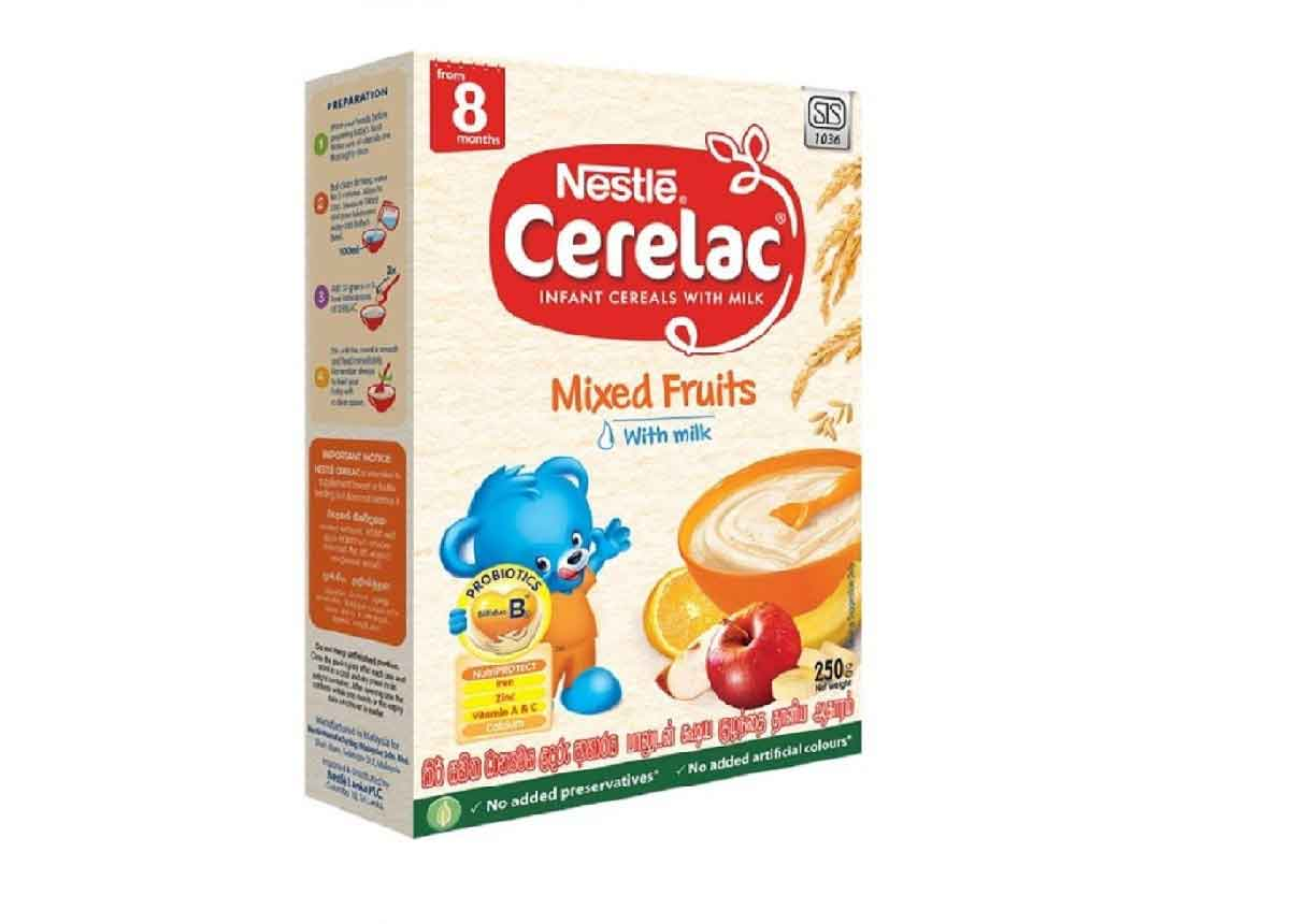 Nestlé CERELAC Mixed Fruit (from 08months)