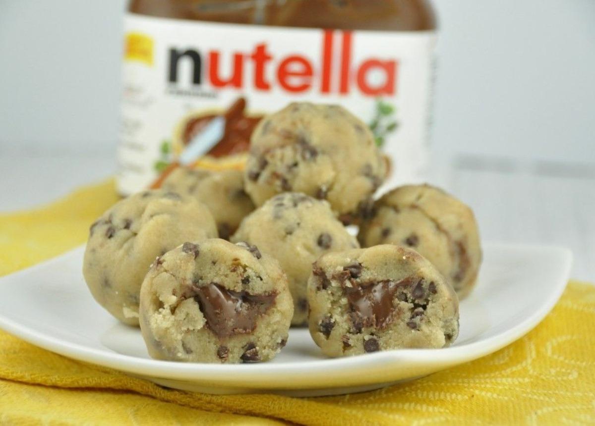 Nutella-Stuffed Cookie Dough (Frozen)