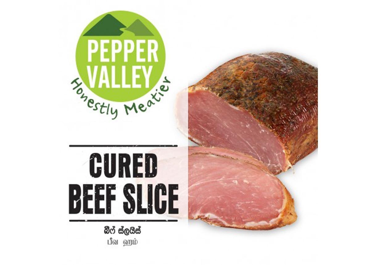 Pepper Valley Cured Beef Slice (Beef Ham) 200g