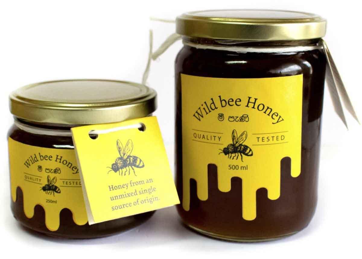 Saaraketha Wild Bee Honey 500ml